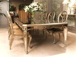 monique mirrored dining table gold trimround mirror room sophia regarding mirrored dining table wonderful mirrored dining