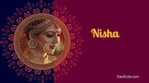 Design Invitation Cards Online Free India Free Indian Invitation Cards Video Maker Online