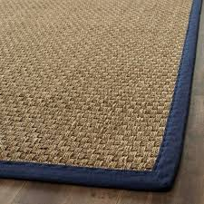 photo 5 of 7 sisal rug with blue border designs superior blue border rug