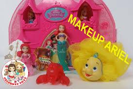 new ariel disney princess glitter grotto sparkle little kingdom storytelling makeup set collection you mercial