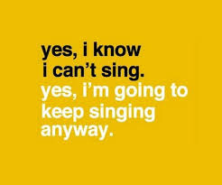 sings quotes