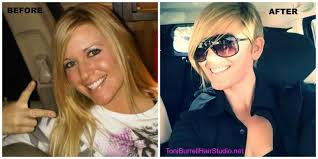 Hair Style Before And After before and after long blonde hair to pixie cut youtube 3615 by wearticles.com