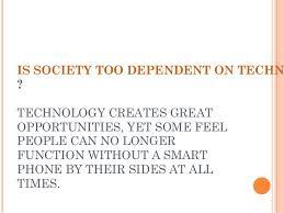Essay Of Technology Essay On Technology And Society Under Fontanacountryinn Com