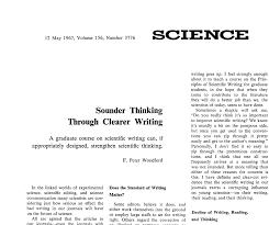 Scientific Writing Scientific Writing Made Easy Science Sense