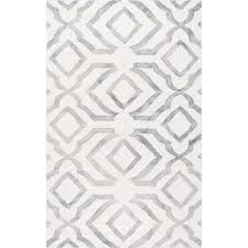 nuloom baggett light grey 8 ft x 10 ft area rug vcdd02b 76096 the home depot