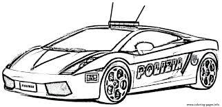 Police Car Coloring Page Police Car Coloring Page Police Car