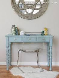 a beachy writing desk painted furniture the weathered door a beachy writing desk beachy furniture
