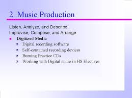 The primary role of a music arranger is to arrange a piece of music based on the needs or requirements of a performer, a group of performers, a conductor, producer or music director. Teaching Music With Technology A Concept Whose Time