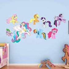 My Little Pony Bedroom Decorations Kids Room Wall Decor Kids Room And Kids  Can Agree That