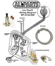 les paul wiring kit ebay epiphone les paul studio wiring diagram wiring kit for gibson� les paul complete w diagram cts pots switchcraft switch