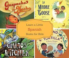 great books to help learn spanish words for kids