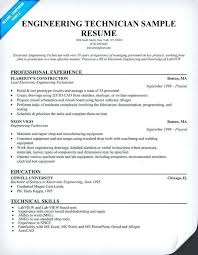 Electronics Technician Resume Samples Technical Resume Template Word Guide On How To Find Resume Examples