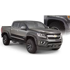 Colorado black chevy colorado : Bushwacker 40970-02 Colorado Fender Flare Matte Black Pocket-Style ...