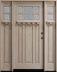 white craftsman front door. Mahogany Solid Wood Front Entry Door - Single With 2 Sidelites White Craftsman F