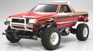 Tamiya 58384 1/10 RC Car 2WD Pick-Up Truck Kit Subaru Brat w/ESC ...