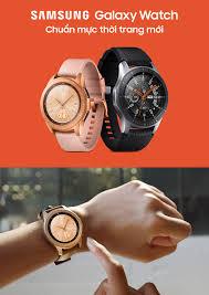 Samsung ra mắt Galaxy Watch tại Việt Nam: Chiếc đồng hồ thông minh thời  trang cho người sành điệu   HDVietnam - Hơn cả đam mê