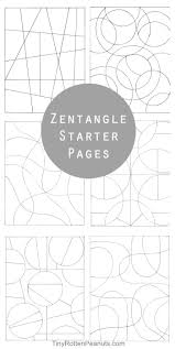 Zen Tangle Patterns Unique Decorating Ideas