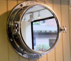 Unique Porthole Mirror Cabinet. Luxury Porthole mirror #luxury #uniquemirror