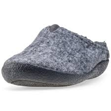 Mens Bedroom Shoes Toms Berkeley Fur Mens Slippers Grey New Shoes Ebay