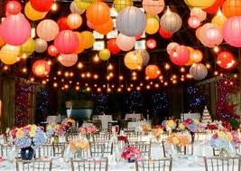 Party Decorating Ideas With Paper Lanterns  Image Inspiration Of Paper Lanterns Wedding