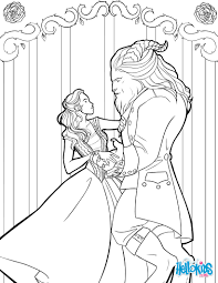 Small Picture Beauty and the beast coloring pages Hellokidscom