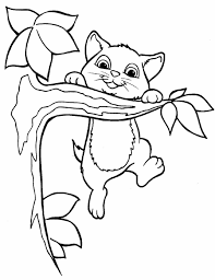 Small Picture Cat Coloring Pages Realistic Coloring Pages
