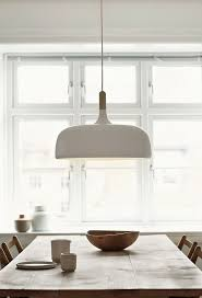 scandinavian pendant lighting. large oversized pendant light above the dining table acorn designed by atle tveit for scandinavian lighting o