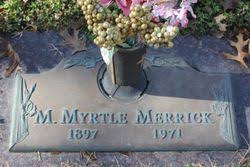 Mary Myrtle Kelley Merrick (1897-1971) - Find A Grave Memorial