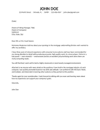 Cover Letter Examples Underwriter Ameliasdesalto Com