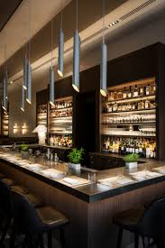 restaurant bar lighting. wine bar nougatine at jean georgeu0027s trump international hotel u0026 tower new york central park interior designs restaurant lighting n