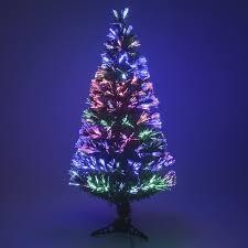 Multi Colour Fibre Optic Christmas Xmas Tree Colour changing Classic Tree  32