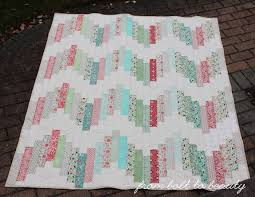 Best 25+ Jelly roll quilt patterns ideas on Pinterest   Jelly roll ... & Tutorial: Ridiculously Easy Jelly Roll Quilt (From Bolt to Beauty) Adamdwight.com