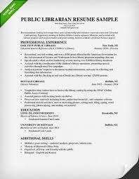 Resume Examples Librarian Examples Librarian Resume