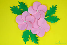 Chart Paper Flowers Step By Step How To Make Paper Flowers For Kids