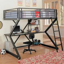 bunk bed office. Coaster Fine Furniture 460092 Workstation Loft Bed With Built-In Desk | The Mine Bunk Office D