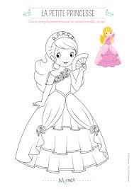 Coloriage De Princesse Avec Mod Le Momes Net