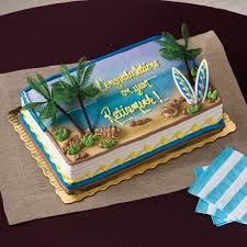 Beach Cake Publix Pirates And Mermaids Party Birthday Sheet
