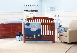 aqua baby boy crib bedding setsr nautical sets 6c