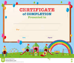 certificates of completion for kids kids certificate template ender realtypark co
