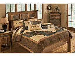 Bedding & Bed Sets for Home & Cabin & Donna Sharp Cabin Raising Quilt Adamdwight.com