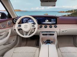 This will be the interior of the. Mercedes Benz E Class Cabriolet 2018 Pictures Information Specs