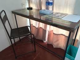 sweet cili hotel the desk cleverly made from an old door