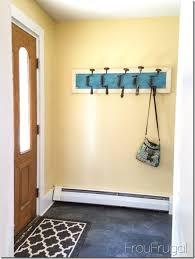 Behind The Door Coat Rack Unbelievable Behind The Door Coat Rack 100 Hook Over In Hooks 3