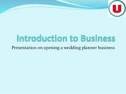 Wedding Planner Ppt Opening A Wedding Planner Business