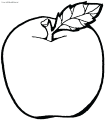 Coloring Pages Fruit Fruit Coloring Pages Free Apple Coloring Pages