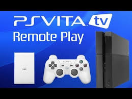 PS Vita TV Remote Play with PS4 Demonstration