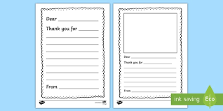 Gratitude Letter Template Thank You Letter Writing Template Thank You Letter Writing