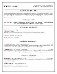 16 Luxury Phlebotomy Skills For Resume Images Telferscotresources Com