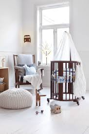 beautiful stokke sleepi mini crib in walnut beech wood and throughout nursery furniture design baby best home collection plans danish cream rock bye