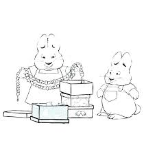 Max And Ruby Coloring Page Coloring Page Max And Ruby 7 Max Ruby